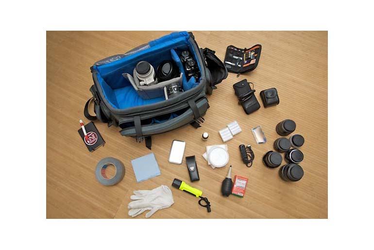 Equipment für On-Location-Fotografie: Die Fototasche