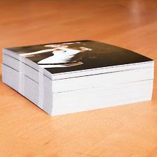 Stapel Postkarten für die PBAFF-Aktion