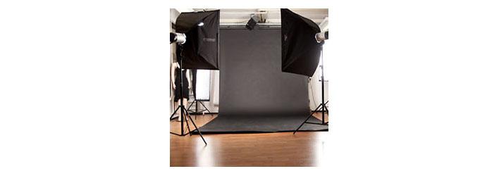 Einrichtung eines Fotostudios