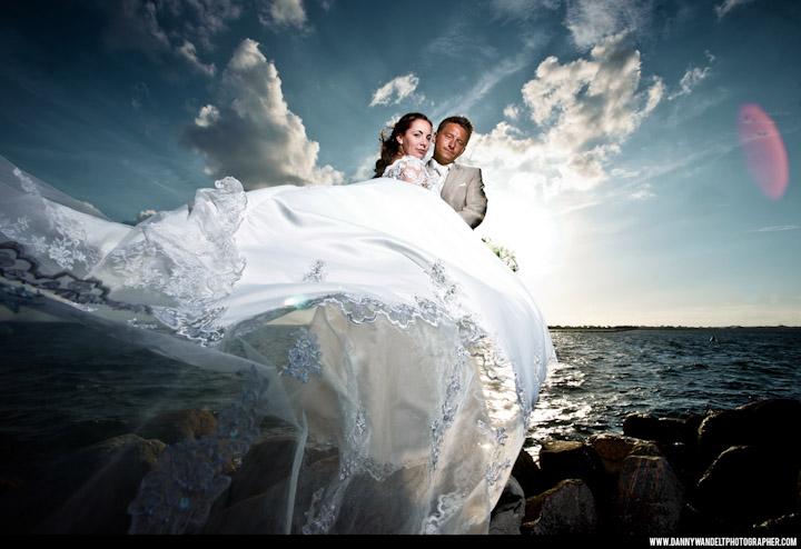 Inszenierte Hochzeitsfotografie von Danny Wandelt