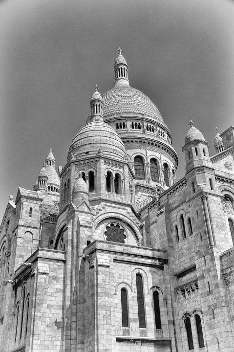 Paris in schwarz weiß – Edler Look für eine edle Stadt