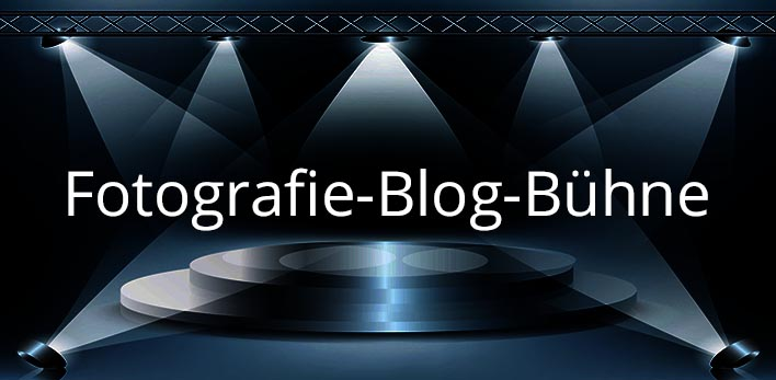 die große Fotografie Blog Bühne