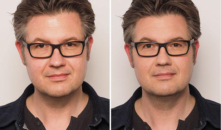Makeup-Training für Anfänger / Männer