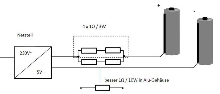 DIY: Netzteil / Dauerstrom für Systemblitze