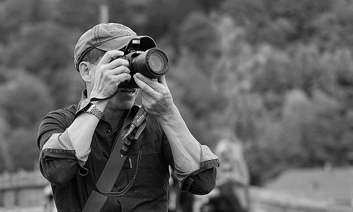 Straßenfotografie in Heidelberg: Menschen beim Fotografieren