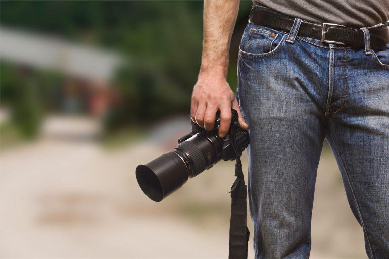 Darf ich Dir bei einem Fotoshooting einmal über die Schulter schauen?