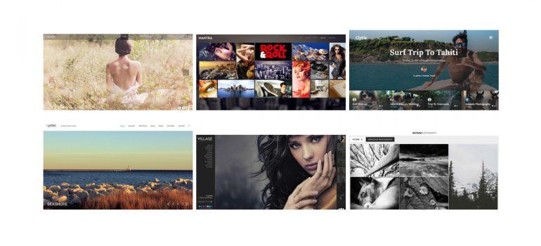 7 erstklassige WordPress Themes für Fotografen