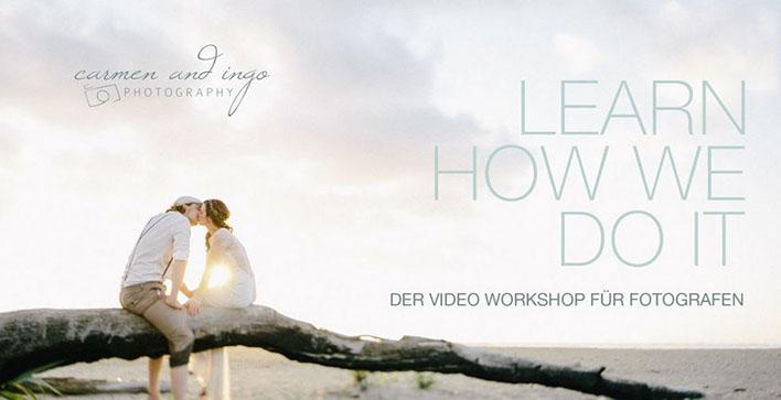 Carmen and Ingo Videoworkshop Hochzeitsfotografie 10 Minuten kostenlos