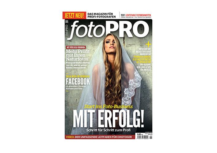 fotoPRO – Eine neue Zeitschrift für Profi Fotografen