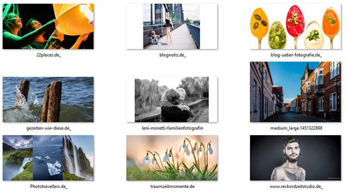 73 empfehlenswerte Fotoblogs
