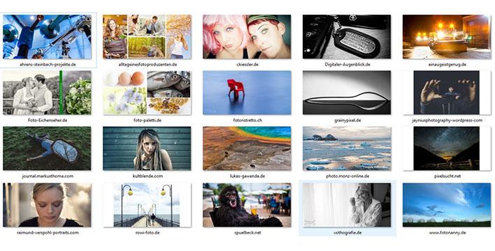 65 sehenswerte Fotografieblogs